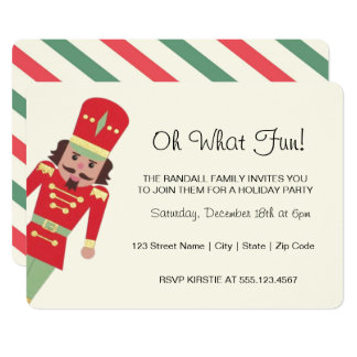 """""""Oh What Fun"""" Toy Soldier 