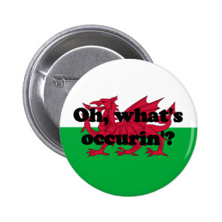 'Oh, what's occurin'?' Pinback Buttons