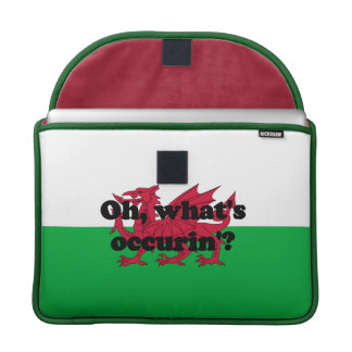 'Oh, what's occurin'?' Sleeve For MacBooks