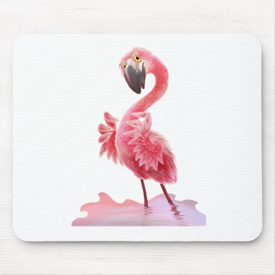 Oh Yeah Flamingo! Mouse Pad
