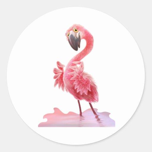 Oh Yeah Flamingo! Sticker