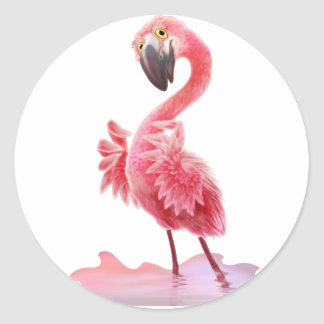 Oh Yeah Flamingo! Stickers