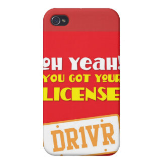 Oh yeah! you got your license! DR1VR iPhone 4 Cases