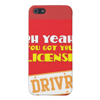 Oh yeah! you got your license! DR1VR iPhone SE/5/5s Cover