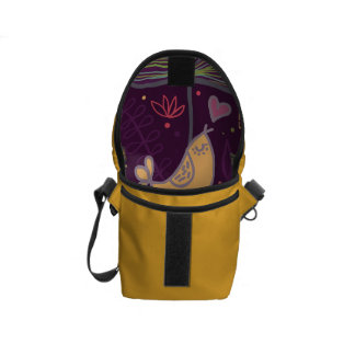 Oh Yellow Birdie Courier Bags