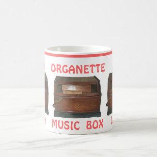 Oh Yes Nanette!  Cherish the Charming Organette! Mug