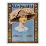 Oh, You Beautiful Doll Poster