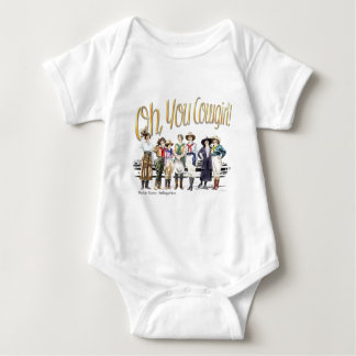 Oh You Cowgirl! Collection Baby Bodysuit