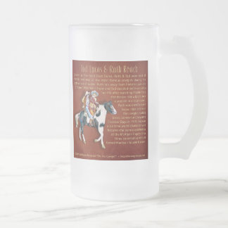 Oh You Cowgirl! Limited Edition Frosted Glass Beer Mug