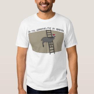 Oh You, LadderGoat , You so Random Santa Hat T Shirt