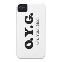Oh your God Case-Mate iPhone 4 Case