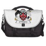 O'Halpin Family Crest Laptop Commuter Bag