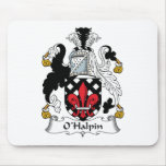 O'Halpin Family Crest Mouse Pad