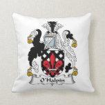O'Halpin Family Crest Pillows