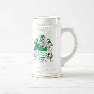 O'Haly Family Crest 18 Oz Beer Stein