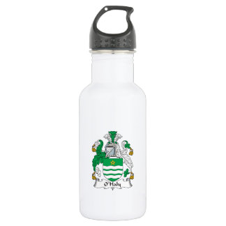 O'Haly Family Crest 18oz Water Bottle