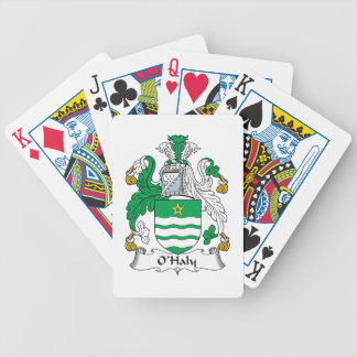 O'Haly Family Crest Bicycle Playing Cards
