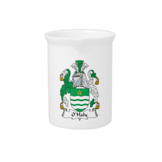 O'Haly Family Crest Drink Pitchers
