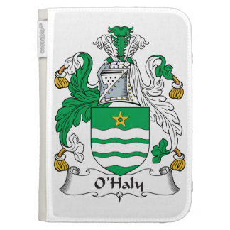 O'Haly Family Crest Kindle 3 Covers