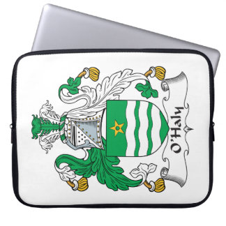O'Haly Family Crest Laptop Sleeve