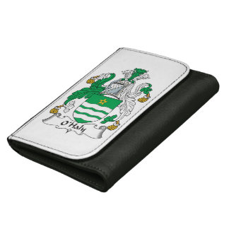 O'Haly Family Crest Leather Wallets