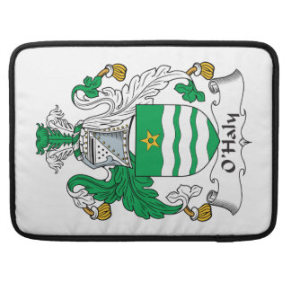 O'Haly Family Crest MacBook Pro Sleeves
