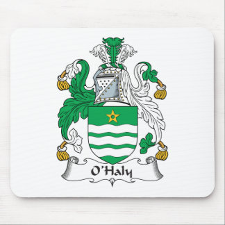O'Haly Family Crest Mouse Pad