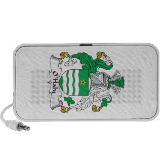 O'Haly Family Crest Notebook Speakers