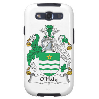 O'Haly Family Crest Samsung Galaxy S3 Cases