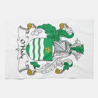 O'Haly Family Crest Towels