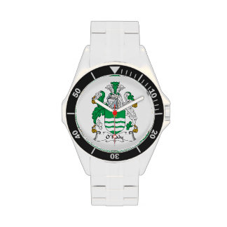 O'Haly Family Crest Wristwatches