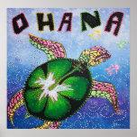 Ohana significa el poster de la familia
