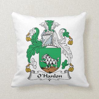 O'Hanlon Family Crest Throw Pillow