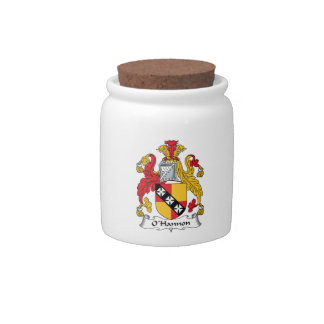 O'Hannon Family Crest Candy Jars