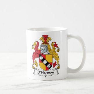 O'Hannon Family Crest Coffee Mug