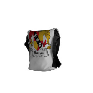 O'Hannon Family Crest Courier Bags