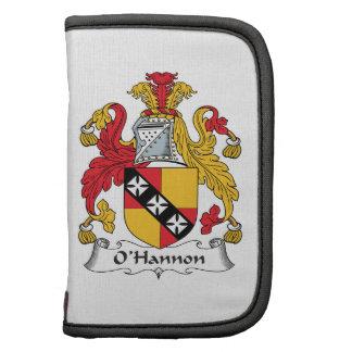 O'Hannon Family Crest Folio Planners