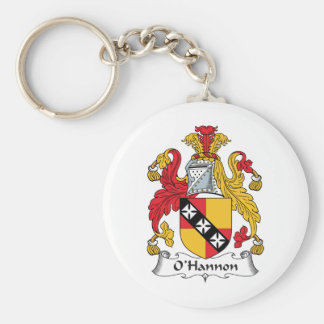O'Hannon Family Crest Keychains