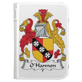 O'Hannon Family Crest Kindle Folio Case