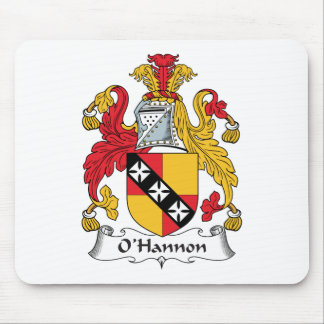 O'Hannon Family Crest Mouse Pad