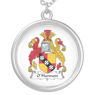 O'Hannon Family Crest Necklace
