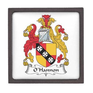 O'Hannon Family Crest Premium Gift Boxes