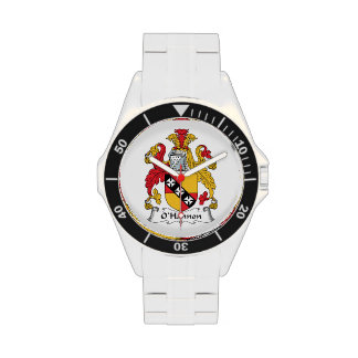 O'Hannon Family Crest Wrist Watches