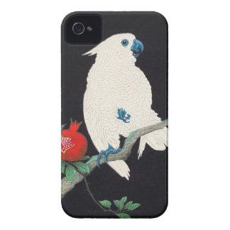 Ohara Shoson Cockatoo and Pomegranate ukiyo-e iPhone 4 Cover