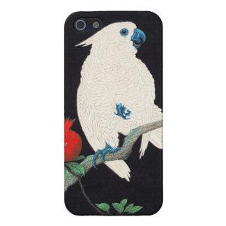 Ohara Shoson, Cockatoo and Pomegranate ukiyo-e Case For iPhone SE/5/5s