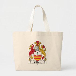 O'Hare Family Crest Canvas Bag
