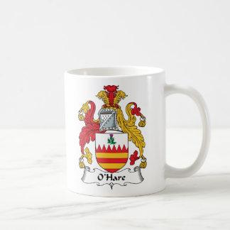 O'Hare Family Crest Classic White Coffee Mug