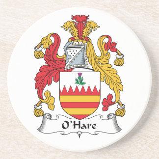 O'Hare Family Crest Coaster