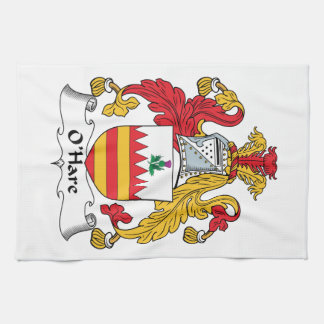 O'Hare Family Crest Hand Towel