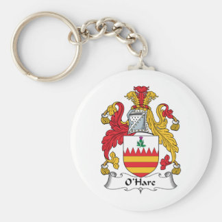O'Hare Family Crest Keychain